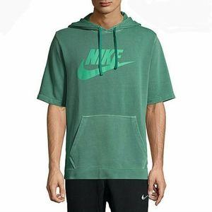 Nike Wash Pack ½ Sleeve Pullover Hoodie Sweatshirt